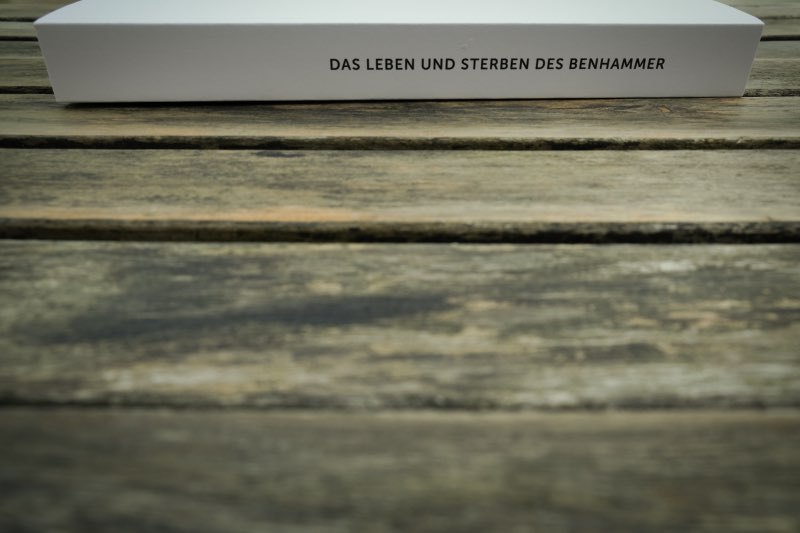 Buchrücken Ben Hammer Bildband