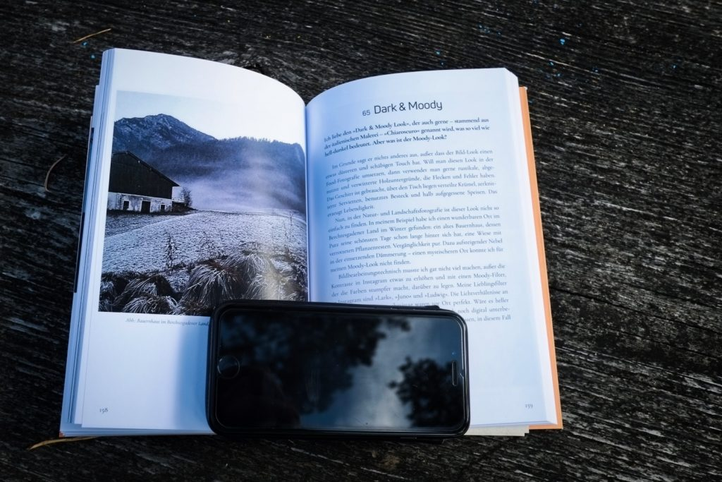 Inhalt - Naturfotografie mit dem Smartphone - Buch