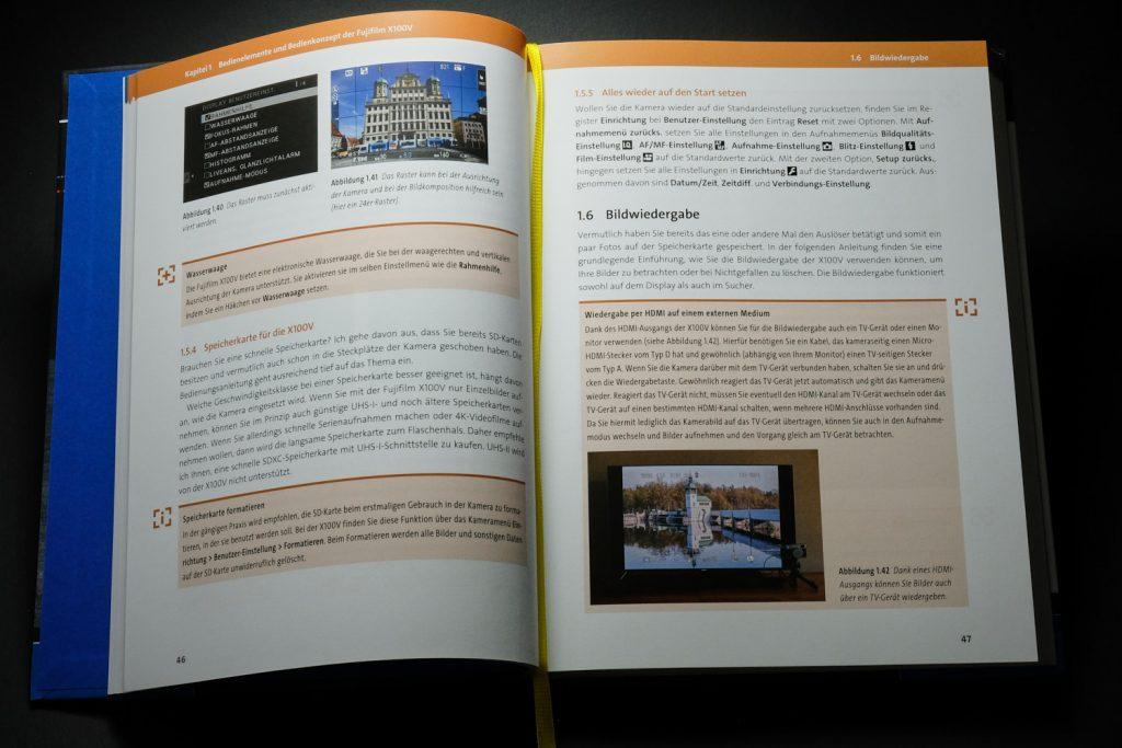 Inhalt - Fujifilm X100V-Handbuch