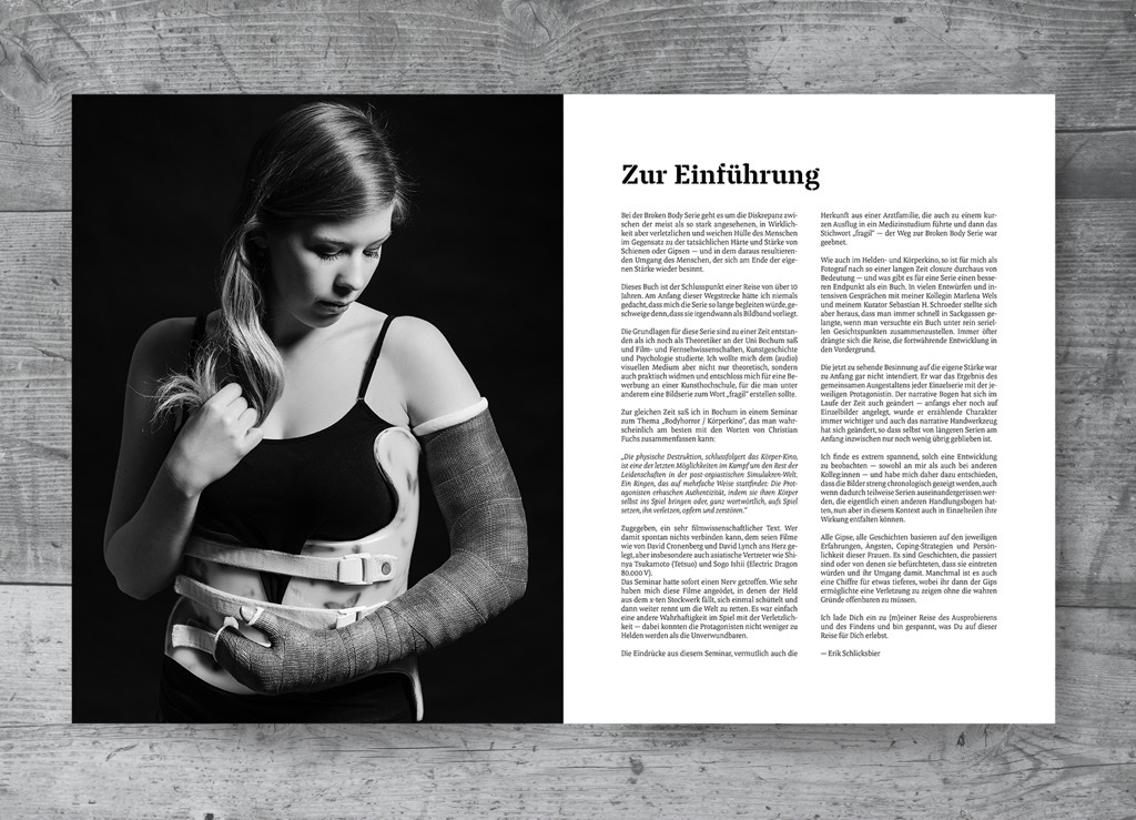 Inhalt - Erik Schlicksbier - Broken Body
